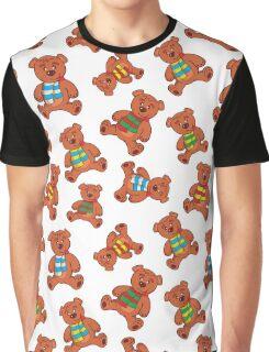 teddy bear pattern Graphic T-Shirt