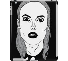 Britta sees everything iPad Case/Skin