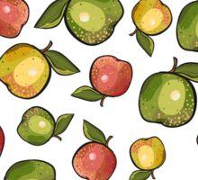 Three apples Sticker