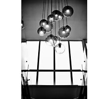 Black and White Lights Photographic Print