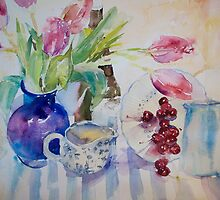 Tulips & Cherries by juliefowkes