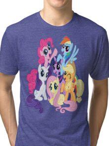 Mane Six Group Tri-blend T-Shirt