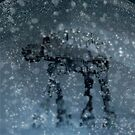Snow globe walker by SixPixeldesign