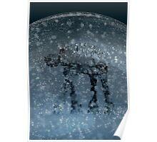 Snow globe walker Poster