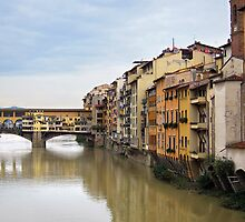 Ponte Vecchio, Florence, Italy by buttonpresser