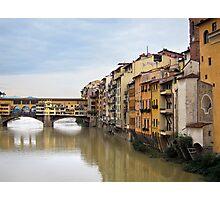Ponte Vecchio, Florence, Italy Photographic Print