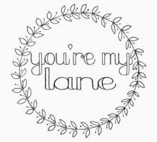 You're My Lane Kids Tee