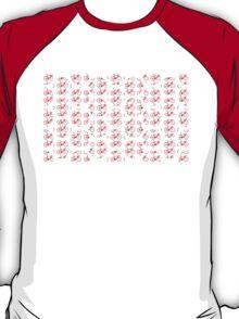 Bike Red Polka Dot (Small) T-Shirt
