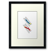 Snakes and Ladders Framed Print