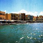 Ancient Harbour in Chania, Greece by Susan  Wellington
