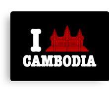 I Angkor (Love) Cambodia Canvas Print