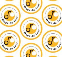 Bike L'Etape du Tour Polka Dot Sticker