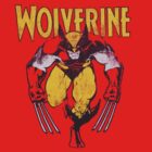 Wolverine Retro Comic Maroon by zamora
