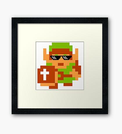 Thug Life Link Framed Print