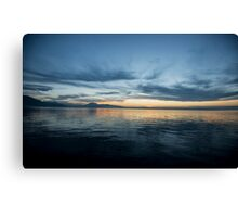 Lake Zug, Switzerland Canvas Print