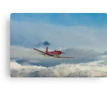 PC-7 Airshow Canvas Print