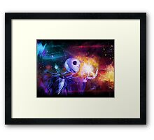 Jack Skellington. Framed Print