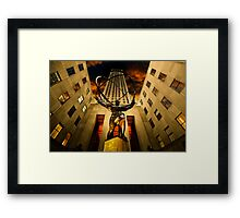 Rockefeller Gloom Framed Print
