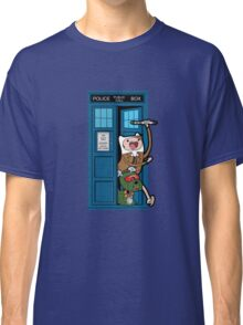 Adventure Time Lord Generation 10 - TARDIS Classic T-Shirt