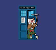 Adventure Time Lord Generation 10 - TARDIS Unisex T-Shirt