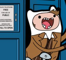 Adventure Time Lord Generation 10 - TARDIS Sticker