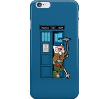 Adventure Time Lord Generation 10 - TARDIS iPhone Case/Skin