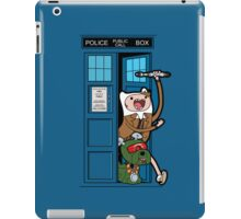 Adventure Time Lord Generation 10 - TARDIS iPad Case/Skin
