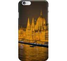 Hungarian Parliament Night Color iPhone Case/Skin