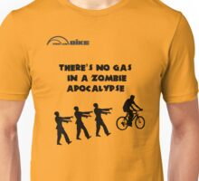 Cycling T Shirt - There's No Gas in a Zombie Apocalypse Unisex T-Shirt