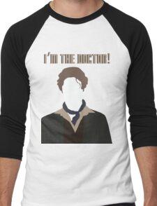 I'm The Doctor! - Paul McGann - Doctor Who Men's Baseball ¾ T-Shirt