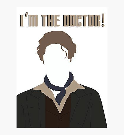 I'm The Doctor! - Paul McGann - Doctor Who Photographic Print