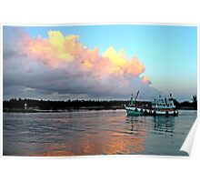 Sunrise, Chumphon, Thailand Poster