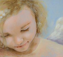 Caring Angel by dorina costras