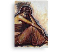 Contemplation part 2 Canvas Print