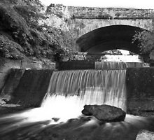 Old Bawn waterfall - Tallaght - Dublin by AKanephoto