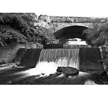 Old Bawn waterfall - Tallaght - Dublin Photographic Print