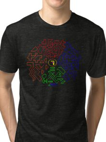 No problems, only solutions. Tri-blend T-Shirt