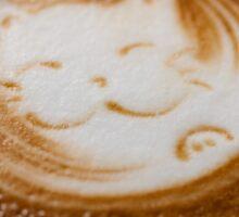 Coffee latte art Sticker