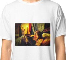 Candlelit Literature Classic T-Shirt