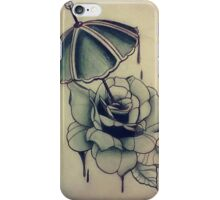 Rose Umbrella  iPhone Case/Skin