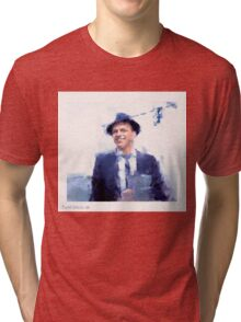 The Chairman of the Board #Sinatra100 Tri-blend T-Shirt