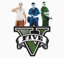 GTA V Trevor, Michael & Franklin by PickledHippo