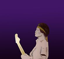 Jimi Hendrix Purple by precisionts
