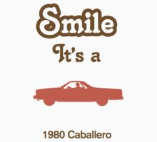 Smile it's a 1980 Caballero Children's Clothing Baby Tee