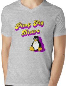 Pimp My Distro Mens V-Neck T-Shirt