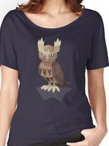 Cutout Noctowl Women's Relaxed Fit T-Shirt