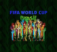 The Fight For FIFA World Cup Brazil 2014 #1 by V-Art