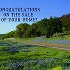 Bluebonnet Road, Texas by Charmiene Maxwell-batten