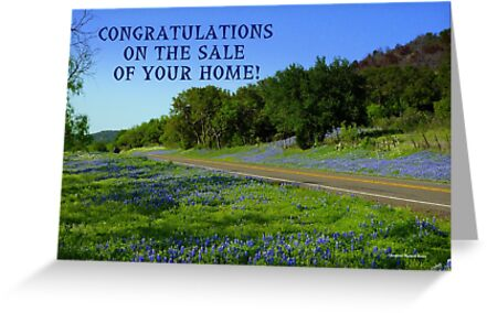 Bluebonnet Road, Texas by Charmiene Maxwell-batten