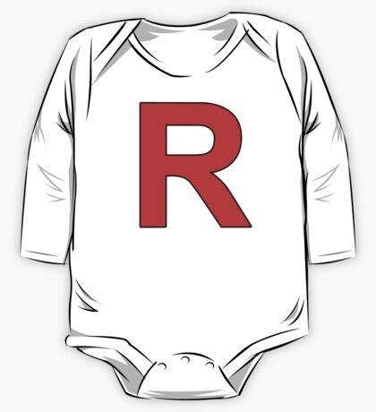 Team Rocket Logo One Piece - Long Sleeve